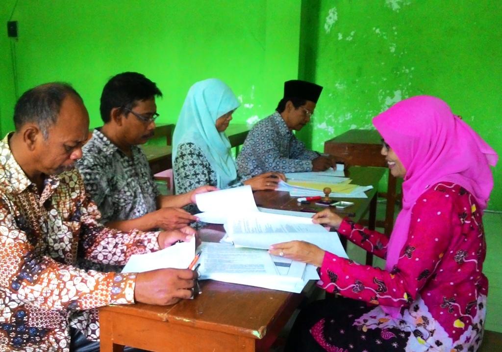 SMP Ma'arif Imogiri Siap Hadapi Akreditasi